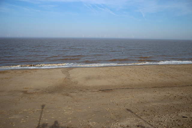 The beach at Skegness