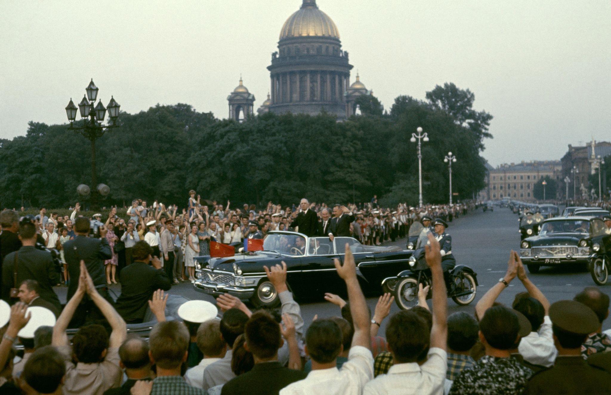 Шарль де Голль в Ленинграде