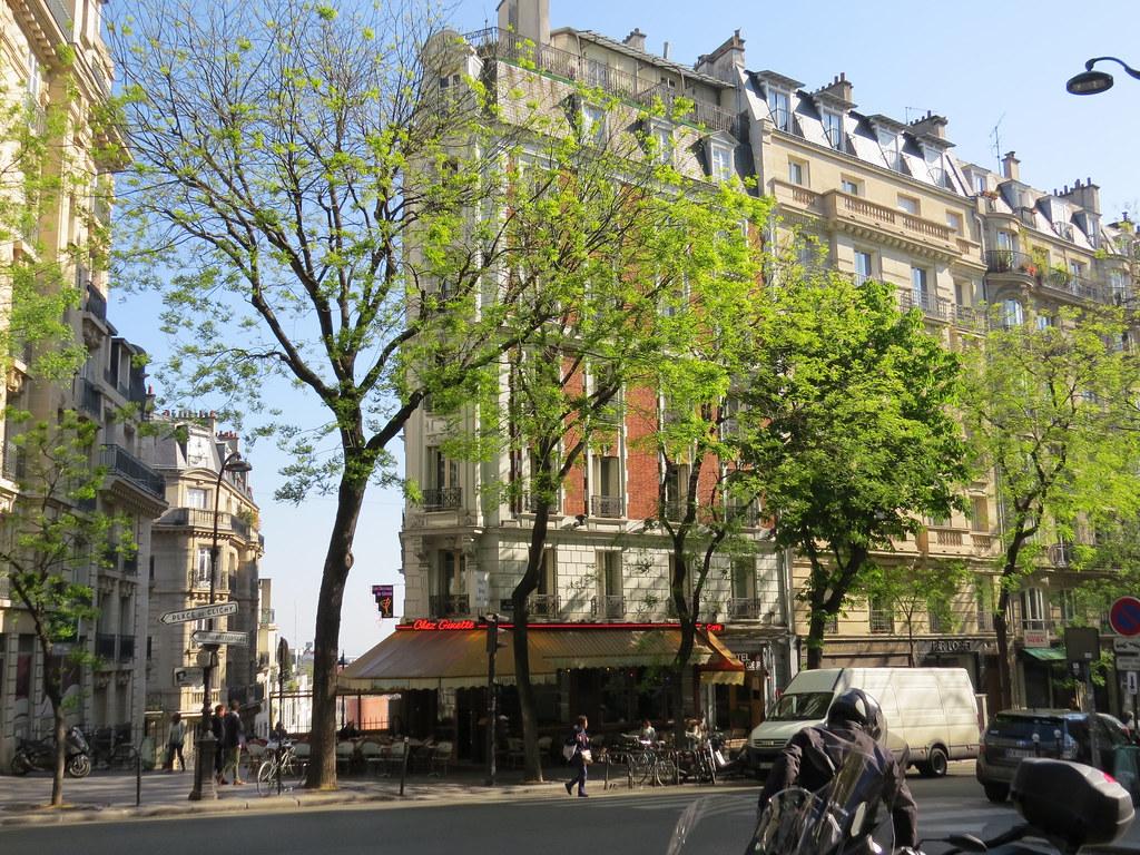 Кафе Chez Ginette