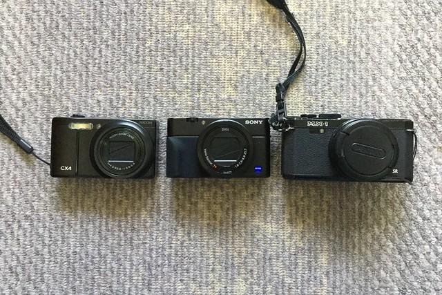 RX100M3 vs MX-1 vs CX4