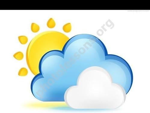 иконка погоды для Фотошоп