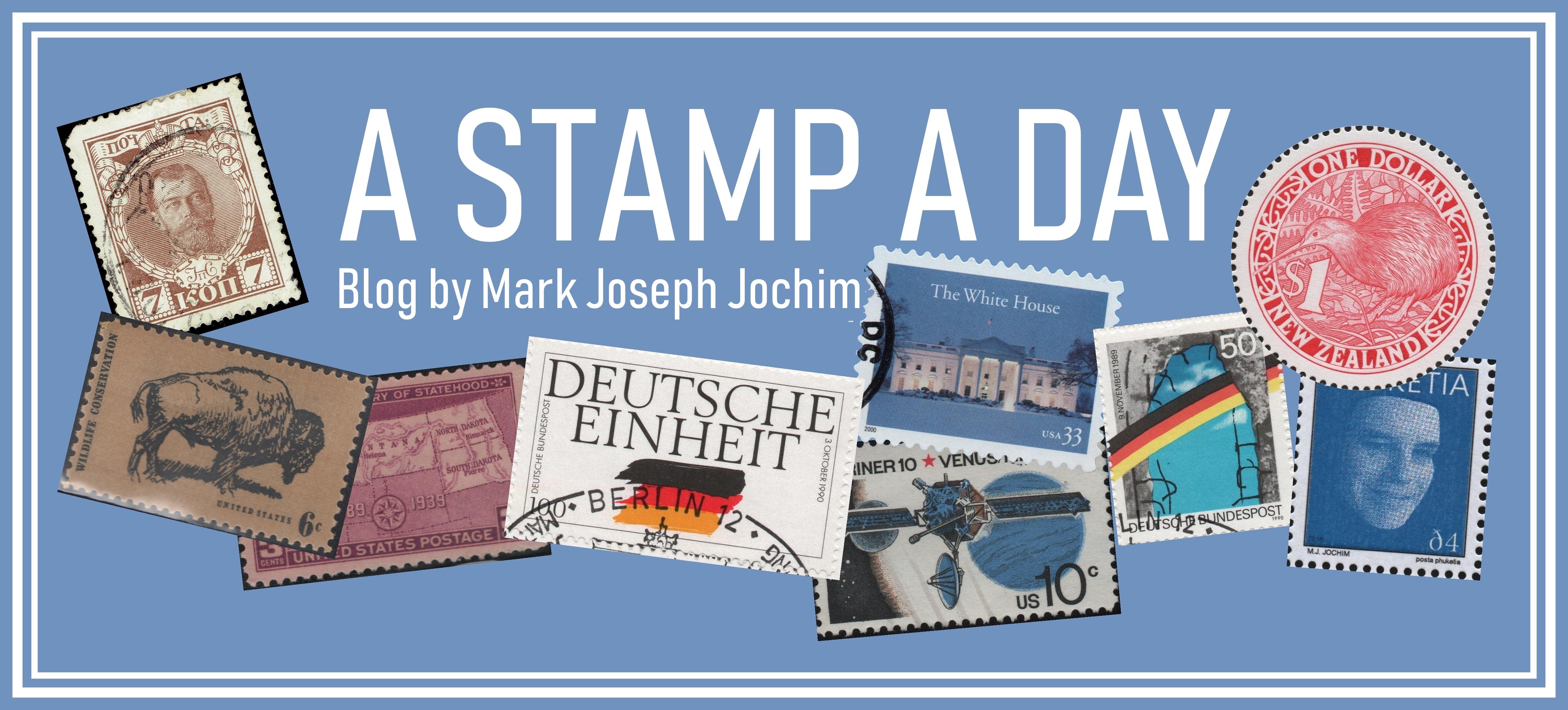 New header image for A Stamp A Day blog., November 2018.