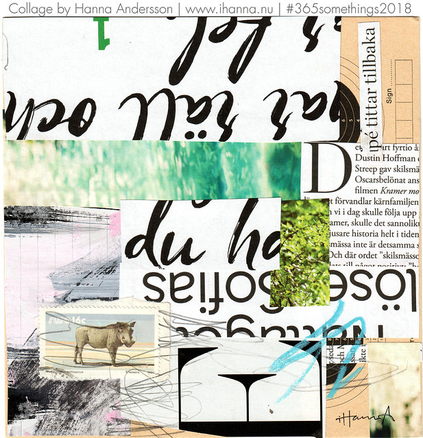 I Feel So Indecipherable - Collage no 261 by iHanna