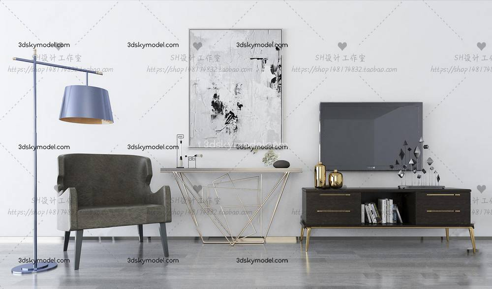 Sell Tv Stand and sideboard collection - Maxbrute Furniture Visualization