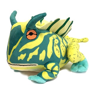 """Watch your step."" 《Monster Hunter: World》Paratoad Stuffed Toy"