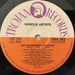 V.A.:THE MAGNIFICENT FOURTEEN(LABEL SIDE-B)