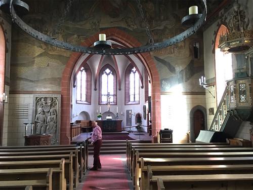 20 - Kronberg - St.-Johann-Kirche - Innenraum