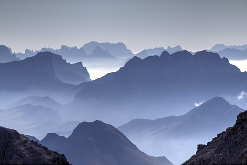 Backlight Dolomites by Seba.it