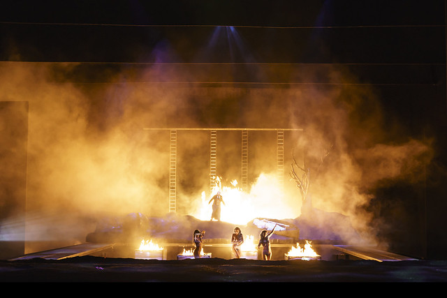 Production photo of Götterdämmerung, The Royal Opera ©2018 ROH. Photograph by Bill Cooper