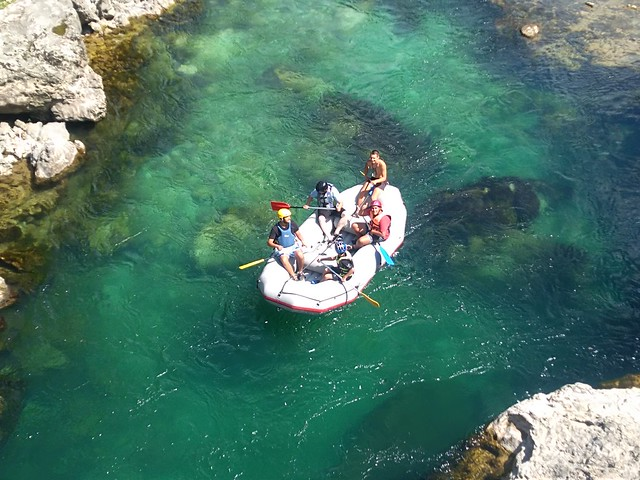 new albumNeretva rafting trip starts just here