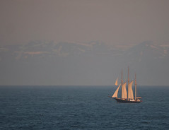 Arctic Circle Sailboat