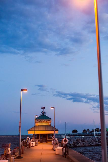 McKinley Marina Pier