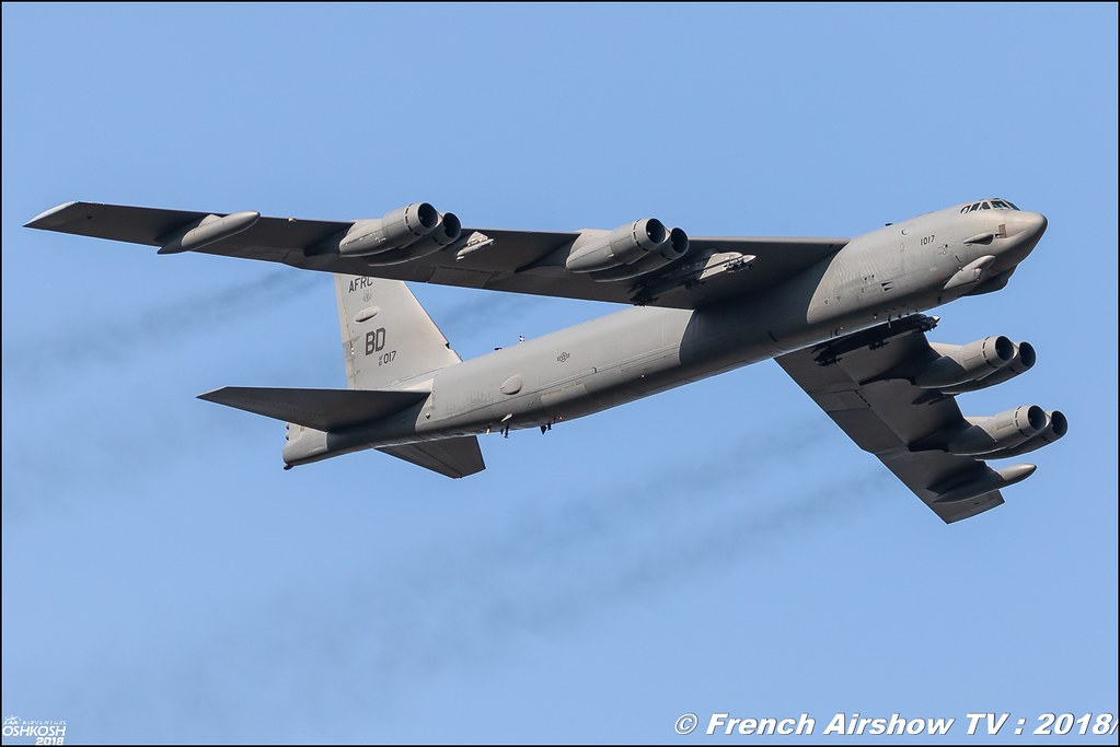 AFRC 70th Anniversary B-52 stratofortress EAA Oshkosh