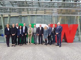 Vortreffen der deutschen Delegation im Kongress des Europarates im Oktober 2018