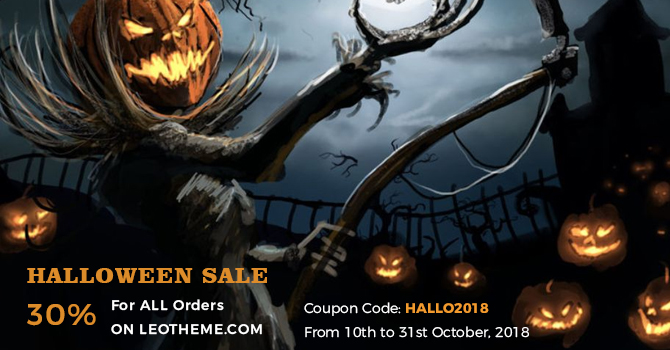 promotion for Halloween 2018