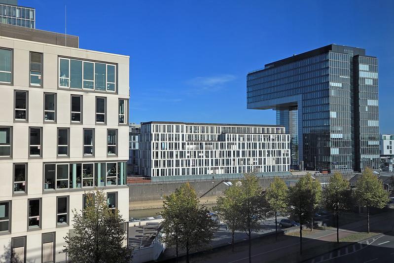 Hotel Novotel Köln City view
