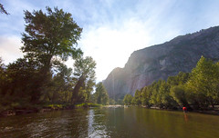 rafting on the merced river