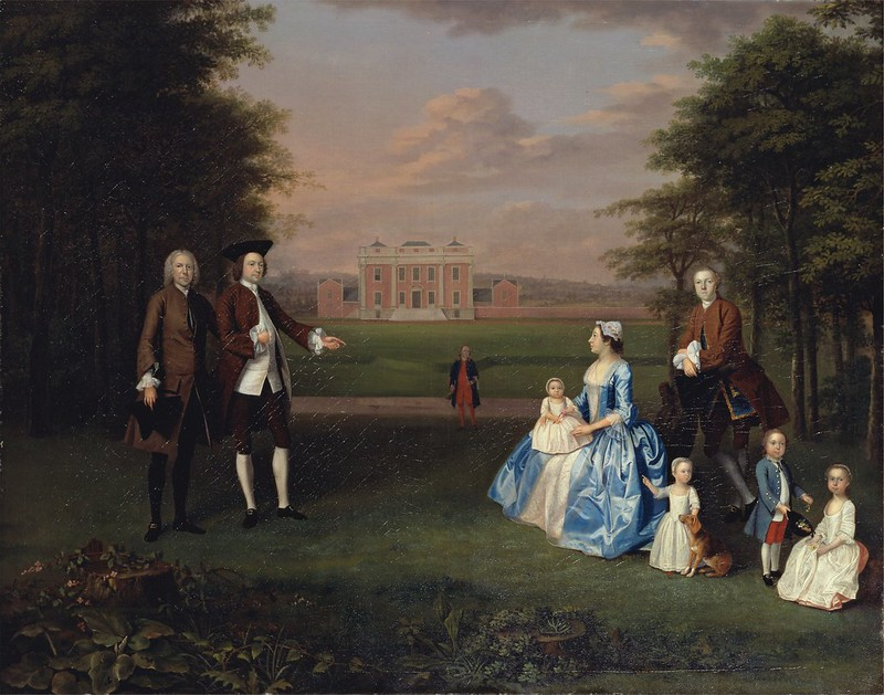 Arthur Devis - Robert Gwillym of Atherton and His Family (c.1746)