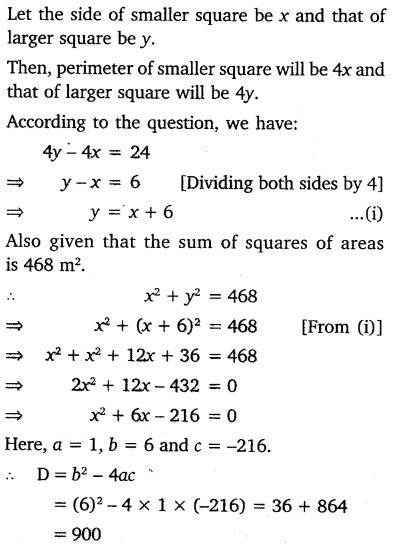 NCERT Solutions for Class 10 Maths Chapter 4 Quadratic Equations 38