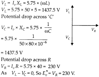 NCERT Solutions for Class 12 Physics Chapter 7 Alternating Current 17