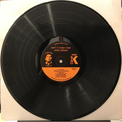 JAMES BROWN:AIN'T IT FUNKY(RECORD SIDE-B)