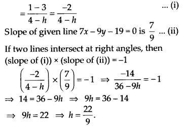 NCERT Solutions for Class 11 Maths Chapter 10 Straight Lines 42