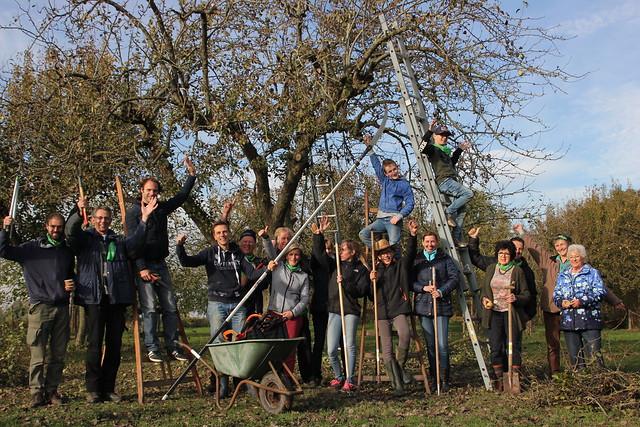 Natuurwerkdag 2019 Zuid-Holland Landgoed de Peerdegaerdt
