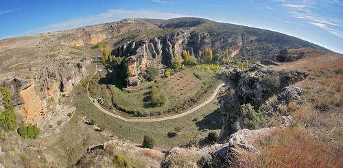 Meandro encajado - Hoces del río Gritos (Las Valeras, Cuenca, España) - 01
