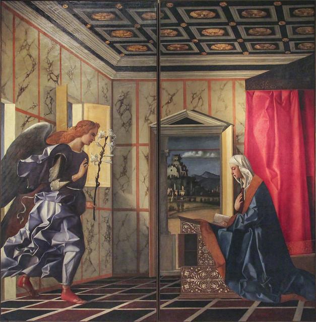 L'Angelo annunciante e l'Annunciata, Giovanni Bellini, 1434(39)-1516