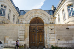 Portes de l'ancien hôtel du Petit-Camusat