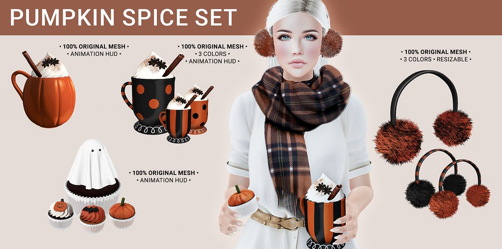 SEmotion Libellune Pumpkin Spice Set