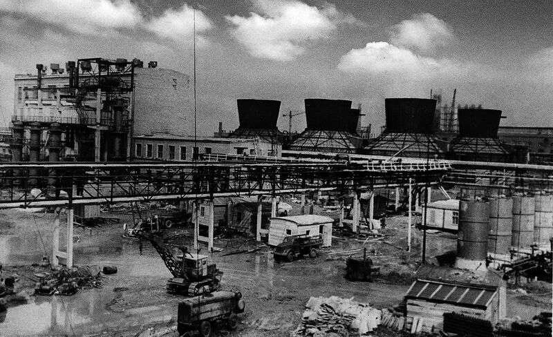 1 Завод синтетического каучука, конец