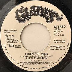 LITTLE MILTON:FRIEND OF MINE(LABEL SIDE-B)