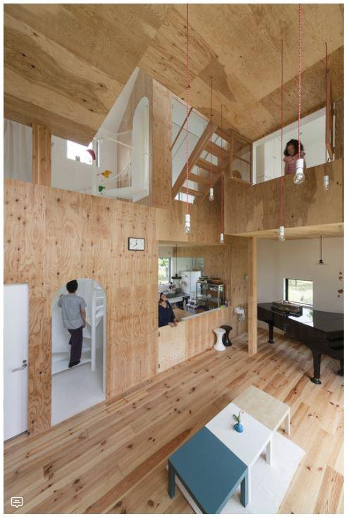 Contoh 11 Desain Rumah Dengan Plafond Ruangan Tinggi Arginuring Arsitek