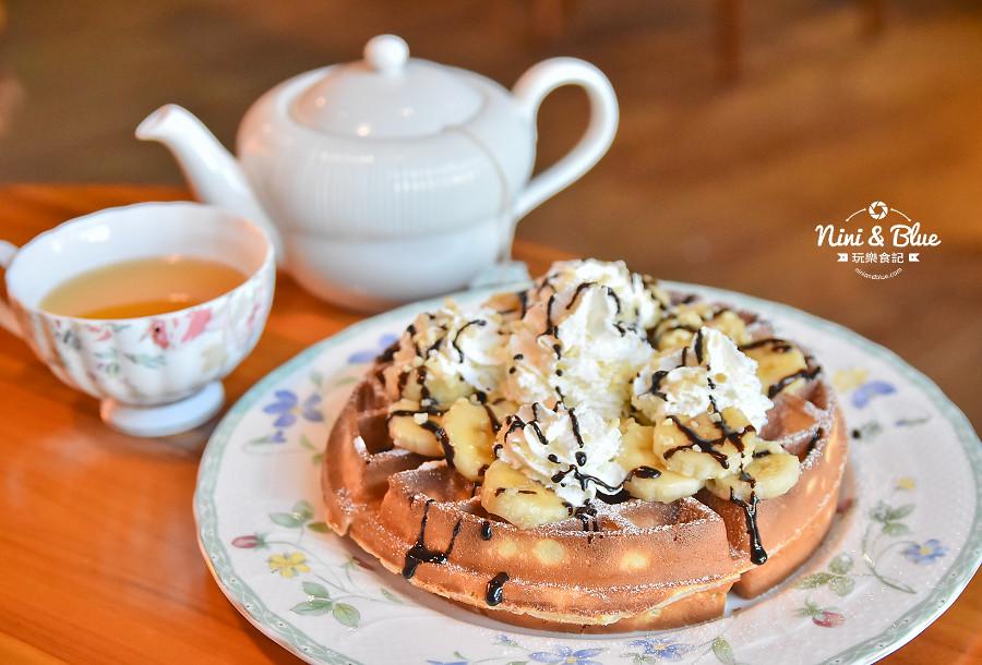 東麗風店 茶花 咖啡 台中咖啡館36