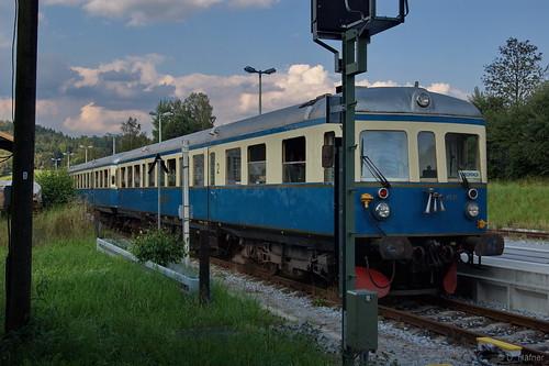 18a-Regenbahn VT 07 in Gotteszell