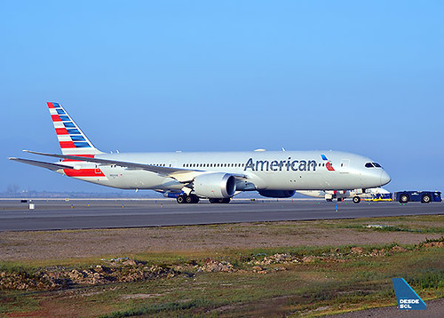 American Airlines B787-9 (Maurice Becker)