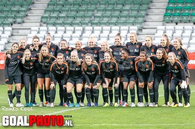 Training Oranje in Viborg 08-10-2018