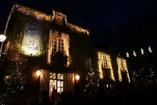 Les illuminations de Rochefort-en-Terre