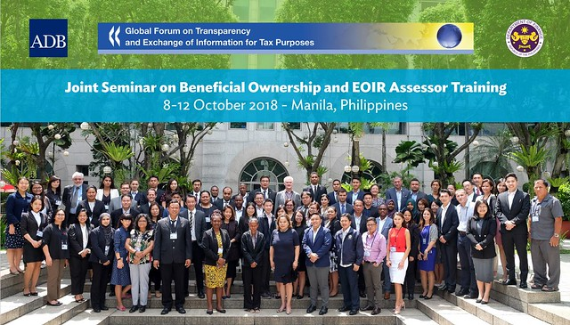 Joint Seminar on Beneficial Ownership and EOIR Assessor Training
