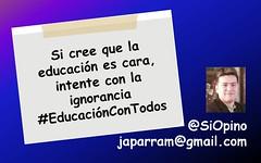 Si cree que la educación es cara, intente con la ignorancia