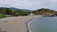 Collioure, plage de l' Ouille