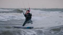 Dusk surfing