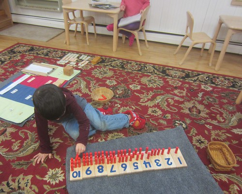 peg board counting