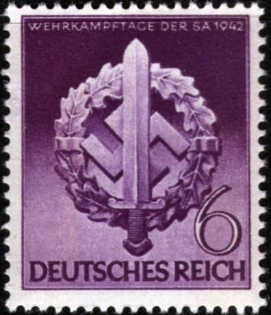 Známky Nemecká ríša 1942 Bojové dni obrany