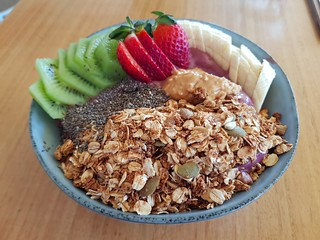 Acai Bowl at Two Tables Cafe
