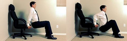 chair dips exercises