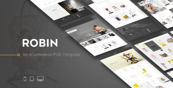 Robin - An eCommerce PSD Template