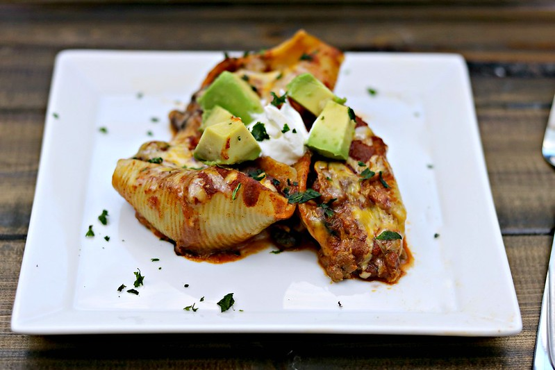 Enchilada Stuffed Shells Front
