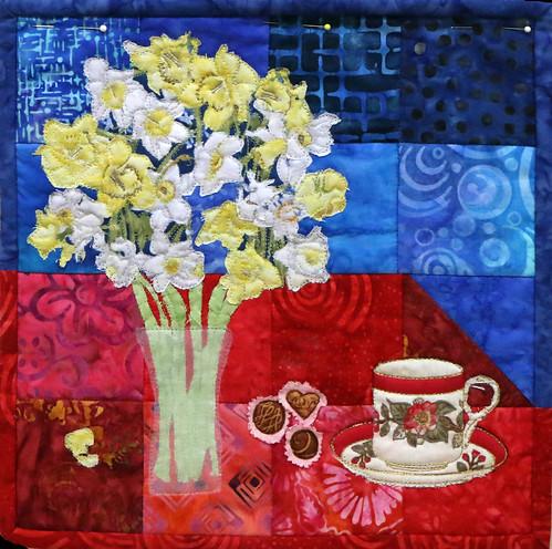 69: Tea & Daffodils - Kathy Beguin